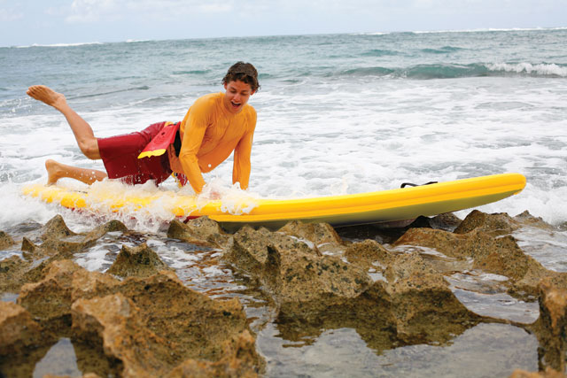 inflatable rescue boards