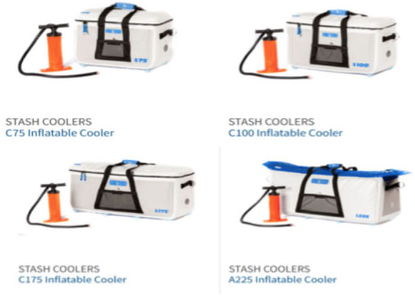 Stash iInflatable coolers