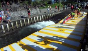 Inflatable dock