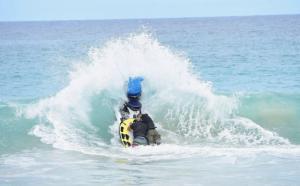 Jet ski rescue training