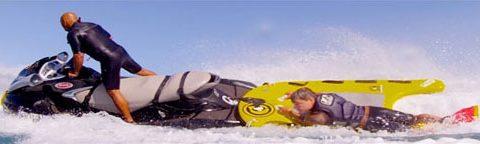 Jet ski rescue and fishing sleds