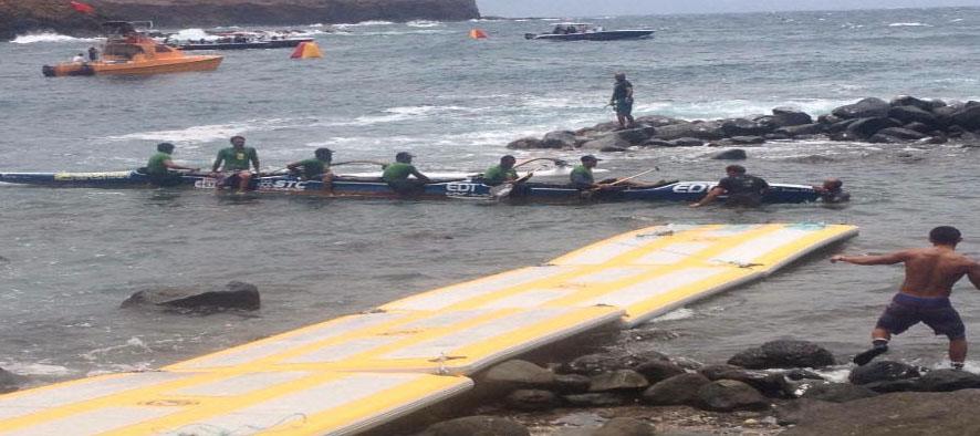 portable inflatable docks