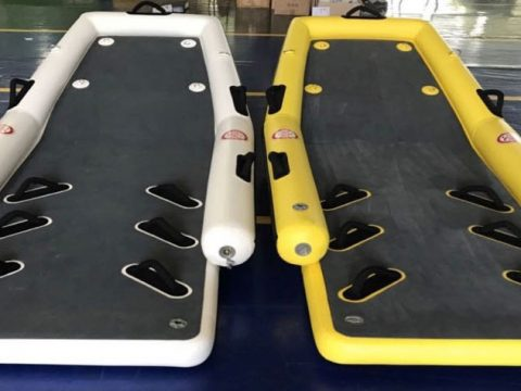 Inflatable utility sleds